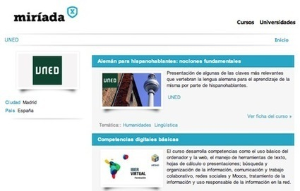 Nuevos cursos COMA en UNED Abierta   E-Learning, Formación, Aprendizaje y Gestión del Conocimiento con TIC en pequeñas dosis.   Scoop.it