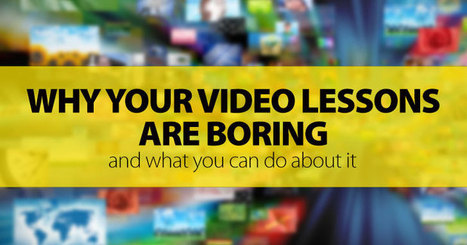 Why Your Video Lessons Are Boring, And What You Can Do About It: 10 Great Activities | Multilingues | Scoop.it