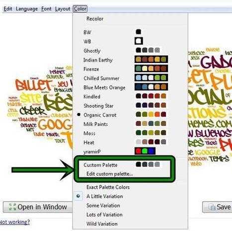Wordle : mode d'emploi | Les outils d'HG Sempai | Scoop.it