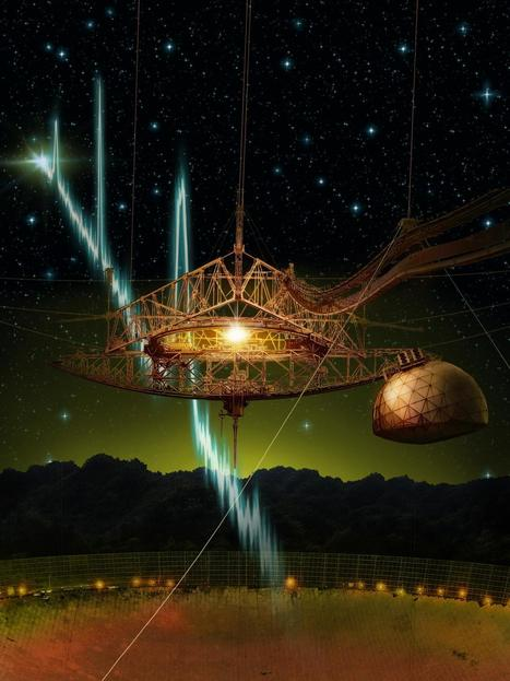 Mysterious cosmic radio bursts found to repeat | Amazing Science | Scoop.it