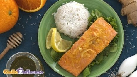 Ricetta Salmone agli agrumi con riso pilaf - Le Ricette di GialloZafferano.it   Gusto e Passione   Scoop.it