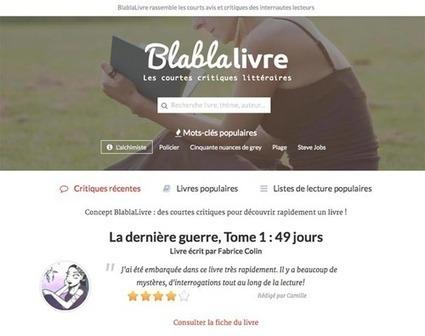BlablaLivre. La critique littéraire en 140 caractères - Les Outils du Web | Les outils du Web 2.0 | Scoop.it
