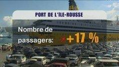 Fréquentation en hausse pour le port de commerce d'Île Rousse - France 3 | Balagne Tourisme | Scoop.it