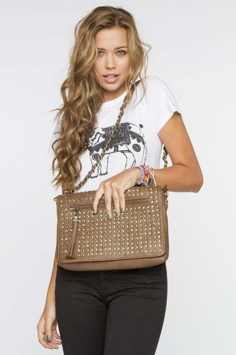 Stud Shoulder Bag | Brandy Melville Accessories | Scoop.it