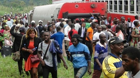 Cameroon train crash: 70 killed, hundreds injured | LibertyE Global Renaissance | Scoop.it