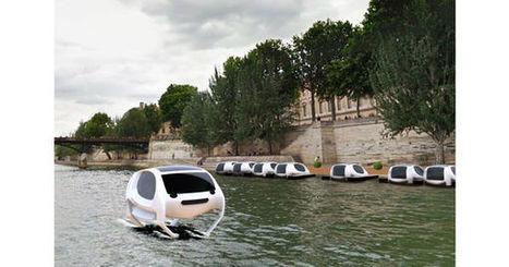[DRÔLES DE BATEAUX] Le Sea Bubble, le bateau taxi électrique - Nautisme | Déplacements-mobilités | Scoop.it