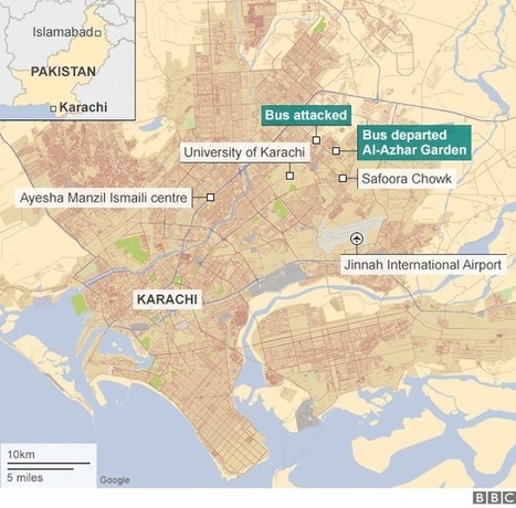 Pakistan gunmen kill 45 on Karachi Ismaili Shia bus - BBC News | Upsetment | Scoop.it