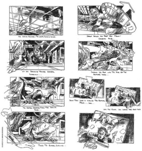 15 Movie Storyboards: See the Early Conceptions of Your Favorite Movie Scenes | Media Studies | Scoop.it
