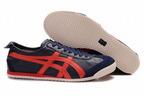black red dark blue mens asics mexico 66 running sneakers | popular collection | Scoop.it
