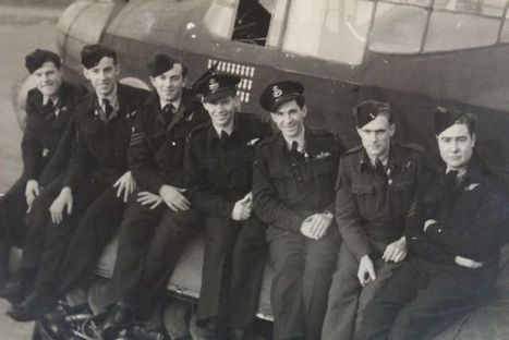 Albany WWII pilot identified in chance sighting of wartime photograph | 460 Squadron - Bomber Command: 1942-45 | Scoop.it