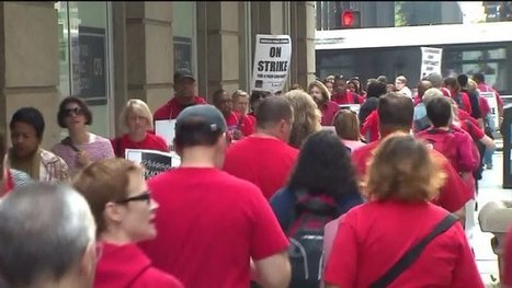 95% of Chicago teachers vote to authorize strike | PSLabor:  Your Union Free Advantage | Scoop.it