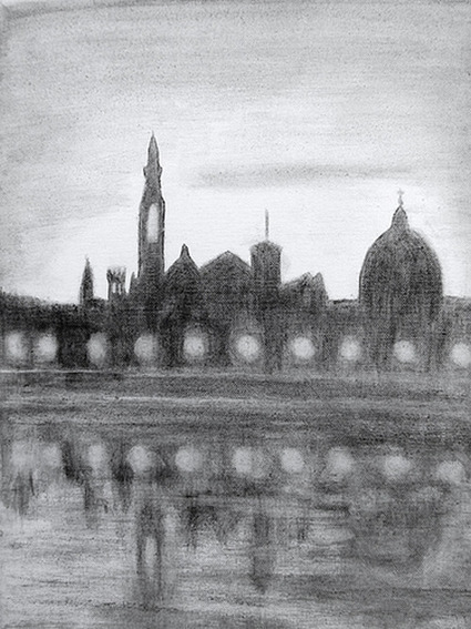Florentine Artist Fights Pollution by Painting with Smog | Art Resources | Scoop.it