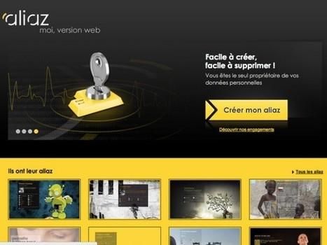 Aliaz, votre carte de visite sur le web (+ invitations) | Je suis Community Manager | Scoop.it