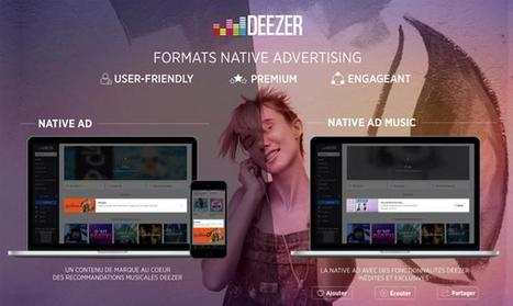 Deezer introduit deux formats de native advertising | Offremedia | Radio 2.0 (En & Fr) | Scoop.it
