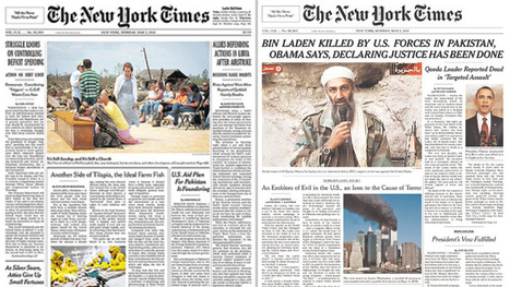 NYT 'stops press' after Bin Laden's death | Font of knowledge | Scoop.it