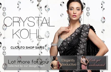 Buy Luxury Wedding Sarees Online- Zarilan | indian wedding dresses | Scoop.it