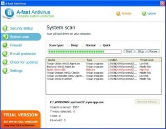 A-FastAntivirus: Symptoms and Removal Instructions | Online Virus Scan | Scoop.it