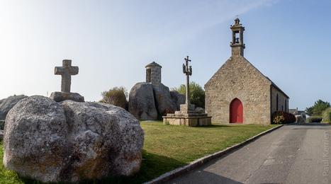 photo en Finistère, Bretagne et...: entre 2 corps de garde : une guérite | photo en Bretagne - Finistère | Scoop.it