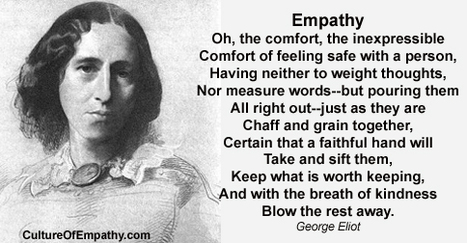 Poem: Empathy by George Eliot   Empathy and Compassion   Scoop.it