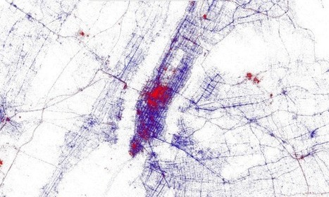 Amazing Maps of 3 Billion Tweets Reveal iPhone vs. Android Neighborhoods | Wired Design | Wired.com | spatial analysis | Scoop.it