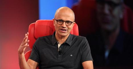 Microsoft CEO talks 'post-post PC world' - CNBC.com | Mobile (Post-PC) in Higher Education | Scoop.it