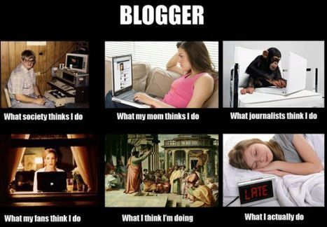 Blogger | What I really do | Scoop.it
