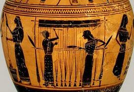 Ο αργαλειός από την αρχαία Ελλάδα μέχρι στις μέρες μας | Ekivolos | Scoop.it