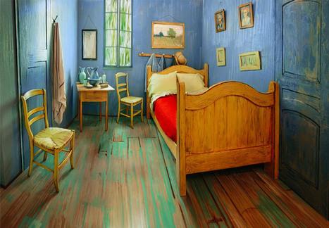 Si la chambre Van Gogh est prise, neuf autres tableaux où passer la nuit | Froggie pages | Scoop.it