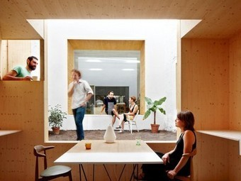 A Dank Laundromat Is Transformed into a Modern, Sunny Studio in Barcelona   Office Environments Of The Future   Scoop.it