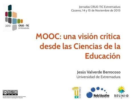 MOOC: una visión crítica desde las Ciencias de ...   Tice Cristina Guerra   Scoop.it