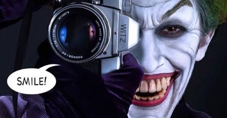 Film legend Rick Baker gives his daughter a Joker makeover | Comic Book Trends | Scoop.it