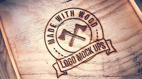 Mockup de grabado en madera | Fotografia | Scoop.it