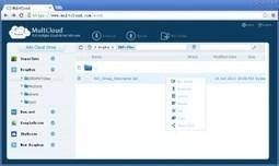 MultCloud. Un accès centralisé à tous vos nuages | Les outils du Web 2.0 | Scoop.it