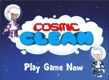 Matmi presents: Cosmic Clean (Web Game) | Online Web Games | Scoop.it