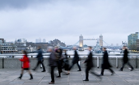 Why People in Cities Walk Fast | great buzzness | Scoop.it