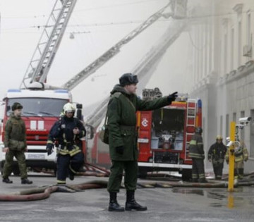 Fire in Moscow's Defense Ministry building and roof down   The Univers News - Latest Online News   Scoop.it