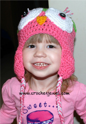 Owl Hat (All Sizes) | To Crochet or To Knit that is the question | Scoop.it
