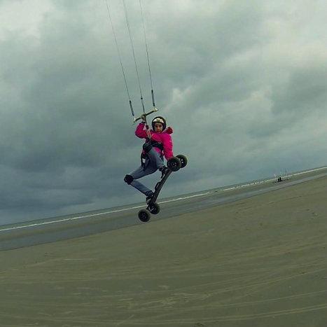Découverte du landkite par notre NEO Rideuse Mélisssa - Neoprincess | Nos élèves ont du talent ! | Scoop.it