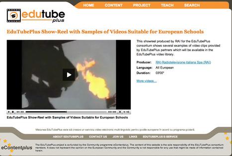 EduTubePlus Show-Reel with Samples of Videos Suitable for European Schools | EduTubePlus | Video for Learning | Scoop.it