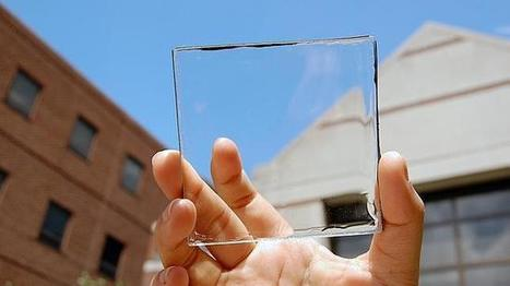Crean un material que puede convertir cualquier ventana en una fuente de energía | (Tecnologia) | Scoop.it