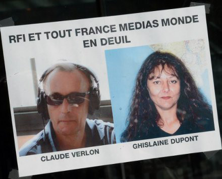 RFI en deuil rend hommage à Ghislaine Dupont et Claude Verlon | DocPresseESJ | Scoop.it