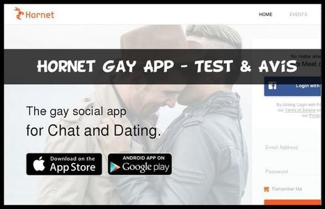 Hornet Gay App - Test & Avis | Divers | Scoop.it