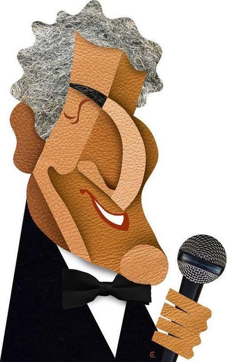 David Cowles Illustrations: Tony Bennett | Jazz Plus | Scoop.it