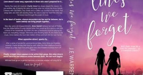 ★★ Blog ★★: LINES WE FORGET by J.E. Warren - COVER REVEAL | @je_warrenwrites | Libraries, Books, and Writing | Scoop.it