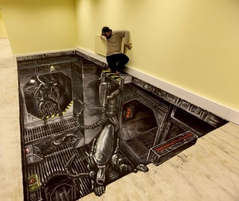 Stunning 3D Illusions Street Art | Gallery | The brain and illusions | Scoop.it