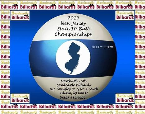 Coming This Weekend - The NJ State 10-Ball Championships Takes ... | Pool & Billiards | Scoop.it