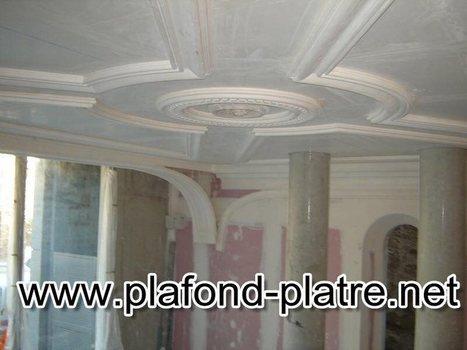 Salon marocain d coration page 2 for Platre sculpte marocain