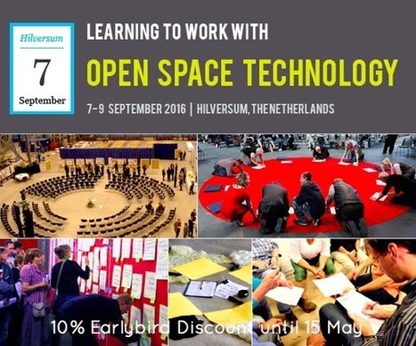 Are you interested in learning to work with Open Space Technology | Art of Hosting | Scoop.it