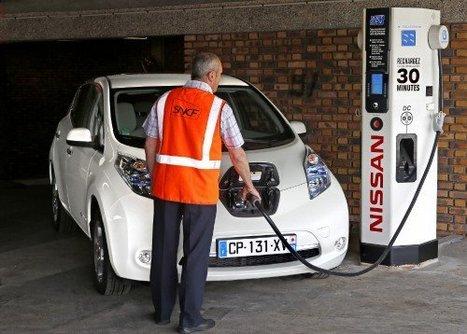 Nissan et SNCF:première borne de charge rapide | great buzzness | Scoop.it