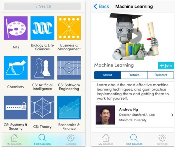 Coursera's new iOS app makes mobile learning beyond simple - Learn Egg | Social Learning - MOOC - OER | Scoop.it